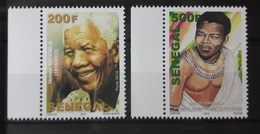SENEGAL NELSON MANDELA MANDELLA MARGIN  2014 RARE MNH ** - Senegal (1960-...)