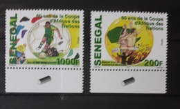 SENEGAL SOCCER AFRICA CUP OF NATIONS FOOTBALL COUPE AFRIQUE NATIONS 2017 MARGIN RARE MNH ** - Senegal (1960-...)