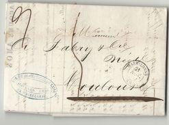 Bas Rhin - Wasselonne Pour TOulouse. LAC De 1852. Cote 10euros - 1877-1920: Periodo Semi Moderno