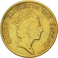 Hong Kong, Elizabeth II, 10 Cents, 1989, TTB+, Nickel-brass, KM:55 - Hong Kong