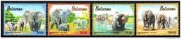 Botswana - 2016 Elephants Set (**) - Elephants