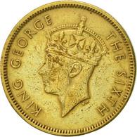 Hong Kong, George VI, 10 Cents, 1949, TTB+, Nickel-brass, KM:25 - Hong Kong