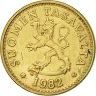 Finlande, 10 Pennia, 1982, TTB+, Aluminum-Bronze, KM:46 - Finlande