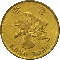 Hong Kong, Elizabeth II, 10 Cents, 1995, TTB, Brass Plated Steel, KM:66 - Hong Kong