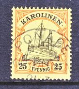 CAROLINE  ISLANDS  11  (o)     PONAPE  Type  III   Cd.  No  Wmk. - Colony: Caroline Islands