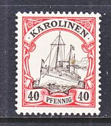 Germany  Caroline Islands 13  * - Colony: Caroline Islands
