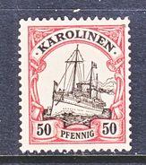 Germany  Caroline Islands 14  * - Colony: Caroline Islands