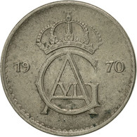 Suède, Gustaf VI, 10 Öre, 1970, TTB+, Copper-nickel, KM:835 - Suède