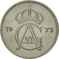 Suède, Gustaf VI, 10 Öre, 1973, SUP, Copper-nickel, KM:835 - Suède