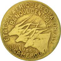 États De L'Afrique équatoriale, 10 Francs, 1969, Paris, TB - Cameroon