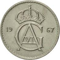 Suède, Gustaf VI, 10 Öre, 1967, SUP, Copper-nickel, KM:835 - Suède
