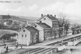17/8 Cour Sur Heure Ham Nalinnes Hainaut  Gare Station Copie - Ham-sur-Heure-Nalinnes