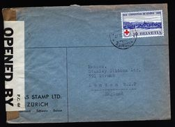 A4831) Schweiz Brief Von Zürich 21.11.39 Nach London Mit Zensur - Briefe U. Dokumente