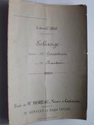 ( étude ) De NOTAIRE Me MOREAU à CHATEAUDUN Anno 1845 / ECHANGE ( Voir Photo Pour Détail ) ! - Non Classés