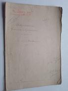 ( étude ) De NOTAIRE Me LUCAS à CHATEAUDUN Anno 1869 / ADJUDICATION ( Voir Photo Pour Détail ) ! - Non Classés
