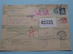 Paketkarte / Bulletin D'Expedition HANNOVER > BRUSSEL Anno 1979 ( Voir Photo Pour Détail ) ! - [7] République Fédérale