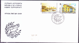 Zypern Cyprus Chypre - Europa (MiNr: 911/2) 1998 - FDC - 1998