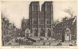 CPA Paris 4e (Dep. 75) Cathédrale Notre-Dame (88826) - Notre Dame De Paris