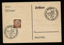A4835) DR Blankokarte Mit Sonderstempel Bremen Ausstellung 28.5.38 - Briefe U. Dokumente