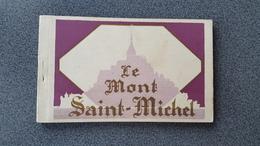 CARNET 20 CARTES POSTALES MONT SAIT MICHEL - Le Mont Saint Michel
