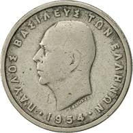 Grèce, Paul I, Drachma, 1954, TTB, Copper-nickel, KM:81 - Grèce