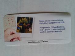 ROMANIA-CIGARETTES CARD,NOT GOOD SHAPE-0.90X 0.42 CM - Tabac (objets Liés)