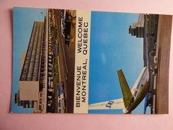 AIRPORT / FLUGHAFEN / AEROPORT     MONTREAL QUEBEC  DC 8 SAS - Aerodrome