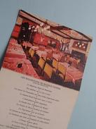 L'HOTEL De PARIS Et De La POSTE A SENS 89 ( Prop. Maurice Sandré / 3-delig Exemplair Plier) Zie Foto Voor Détail !! - Advertising