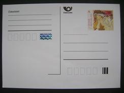 Czech Republic: Postal Stationery Entier Ganzsache 2010 Artist Alfons Mucha - Postal Stationery