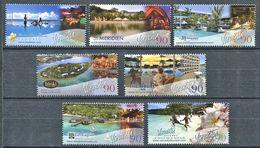 206 VANUATU 2008 - Yvert 1313/19 - Station Balneaire - Neuf ** (MNH) Sans Trace De Charniere - Vanuatu (1980-...)