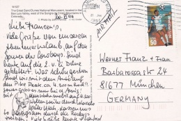 USA Postcard Franked W/1994 World Cup Football USA Fifa Posted 1994 (DD4-29) - World Cup