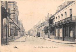 ¤¤  -  COSNE   -  La Rue De Paris  -  Grand Café TIVOLI - Cosne Cours Sur Loire