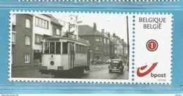 MYSTAMP BELGIUM  GENT // TRA38  //   GENT TRAM 3. (ZONDER  Tekst). + VW KEVER  ** MNH  .  . ZIE/VOIR SCAN . SUPER SALE - Private Stamps