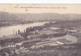 Cpa-26-saint Vallier Sur Rhone--quartier Nord-usines-edi Catala N°22 Bis - Sonstige Gemeinden