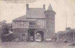 Cpa-35-paimpont-foret-Pas Sur Delc.-val Sans Retour-chateau De Runeuve--edi Garnier & Coeonnier N°79 - Paimpont