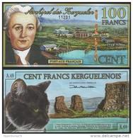 Kerguelen Is - 100 Francs 05.11.2010 POLYMER - UNC - Banconote