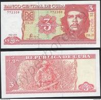Cuba P 127 A - 3 Pesos 2004 - UNC - Cuba