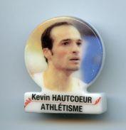 "FEVE - FEVES -   ""SPORTS"" - SPORT -  KEVIN HAUTCOEUR - ATHLÉTISME - MÉDAILLON - Sport"