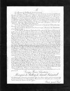 Faire-part De Décès - Georges Henri,Christian Marquis De Belloy De Saint-liénard Décédé à Son Domicile De La - Overlijden
