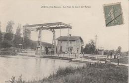 52 - CUREL - Le Pont Du Canal Et L' Ecluse - France