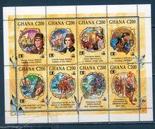 GHANA  1992 -- 500 ° Colombo --- Yvert 1377/84 **MNH /VF - Christopher Columbus