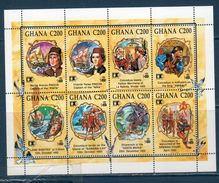 GHANA  1992 -- 500 ° Colombo --- Yvert 1377/84 **MNH /VF - Christophe Colomb