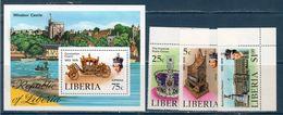 Liberia 1978 -- Incoronazione Elisabetta  Yvert 772/74 + BF 90 **MNH /VF - Liberia