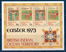 British Indian Ocean Territory 1973 -- Pasqua -- Yvert  BF 1  **MNH /VF - British Virgin Islands