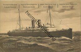 Paquebots - De L Etat Belge Ostende-Douvres - A Bord Du Paquebot Pieter Deconinck - Ganzsache - Ganzsachen