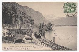 SUISSE - VEYTAUX Chillon, Gare, Pionnière - VD Vaud