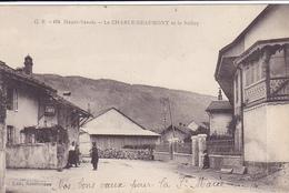 Cpa-74-le Chable Beaumont--et Le Saleve-personnages-edi G.R.  N°478 - Andere Gemeenten