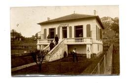 Hyeres Var Carte Photo Construction Villa 1er Fèvrier 1915 Correspondance Du Propriétaire Ci Rapportant. Très Bon état - Hyeres