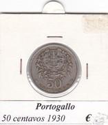 PORTOGALLO   50 CENTAVOS   ANNO 1930  COME DA FOTO - Portogallo