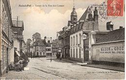 ST POL. Entrée De La Rue Des Carmes - Saint Pol Sur Ternoise